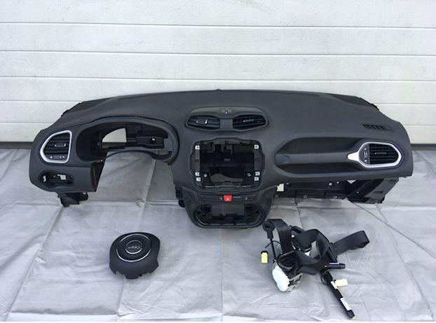 Jeep Cherokee Renegade tablier airbags cintos