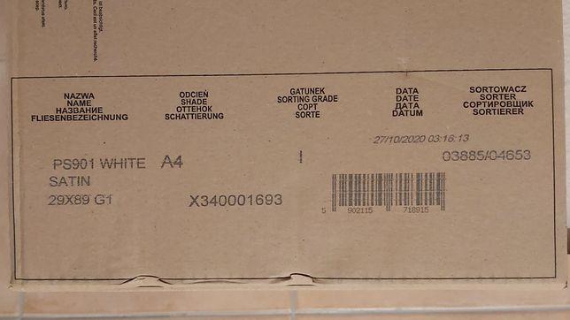 White Satin 29x89 Opoczno płytki kafle