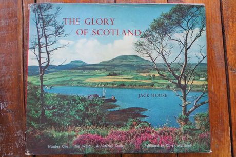 Шотландия, альбом, фотографии. The Glory Of Scotland Hardcover. 1962.