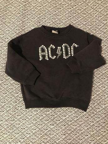 Bluza zara AC DC rozm 116