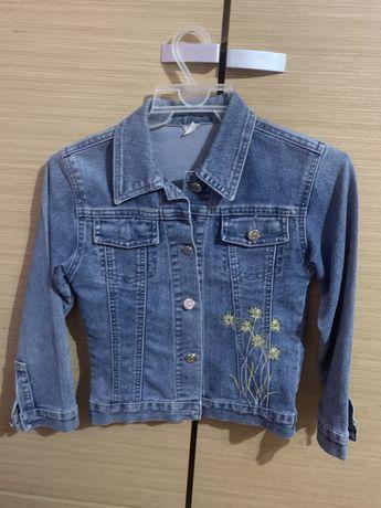 Kurtka jeansowa 110-116