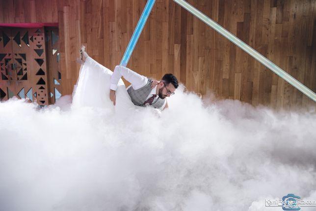 Ciężki dym Taniec w chmurach profesjonalnie