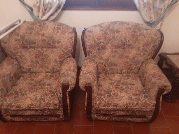 Conjunto de Sofás - 2 + 1 sofá cama