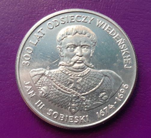 Moneta/Monety - PRL 50 ZŁOTYCH 1983 - JAN III SOBIESKI - Piękna!