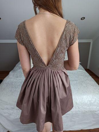 Piękna suknia szyta na miare M