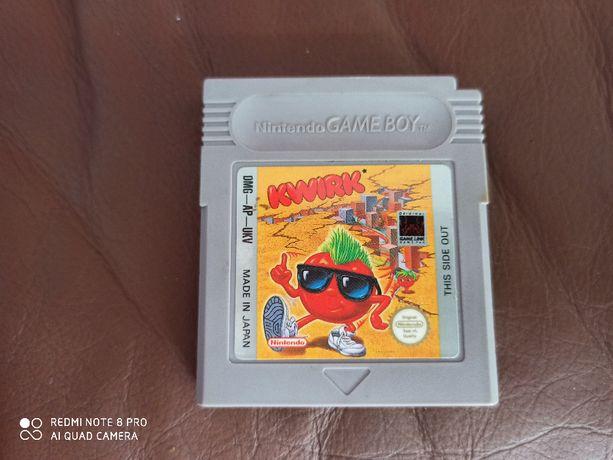 Nintendo Game Boy Advance gra Kwirk