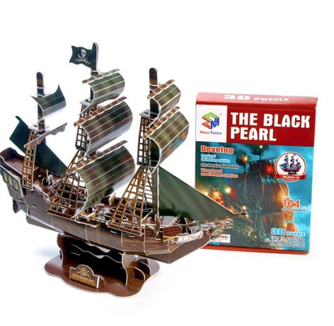 """Огромные 3D пазлы """" THE BLACK PEARL """" Трехмерный конструктор"""