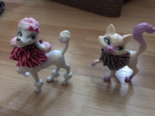 Zwierzęta z Barbie rewia mody