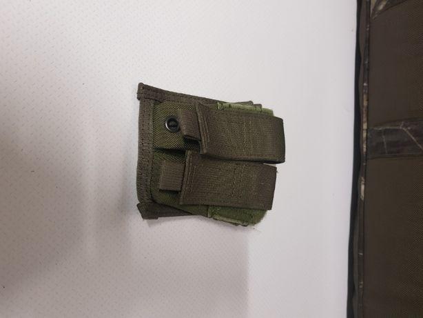 Airsoft porta carregadores pistola duplo OD