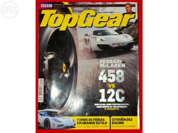 Revistas Top Gear Portugal