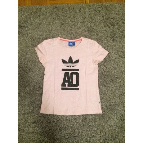 Koszulka Adidas t-shirt jasny róż