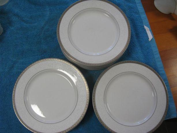 Talerze obiadowe porcelanowe 20 sztuk Mayfair Club