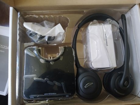 Plantronics CS520 słuchawki bezprzewodowe do telefonu praca zdalna