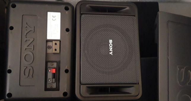par de monitores de estúdio Sony Pro