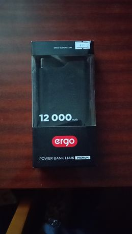 Power bank Ergo LI-U6 PREMIUM 12000 mAh