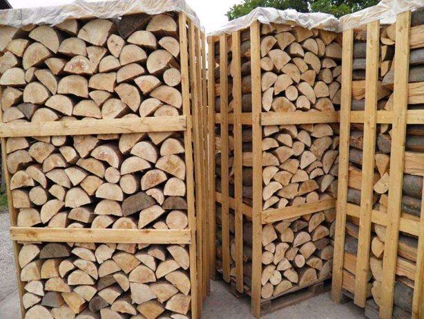 drewno kominkowe, opałowe grab buk dąb brzoza sosna i inne