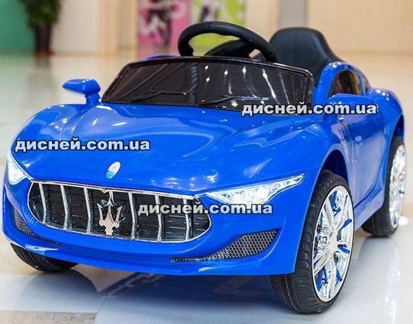 Детский электромобиль T-7637 BLUE, Мазерати, Дитячий електромобiль
