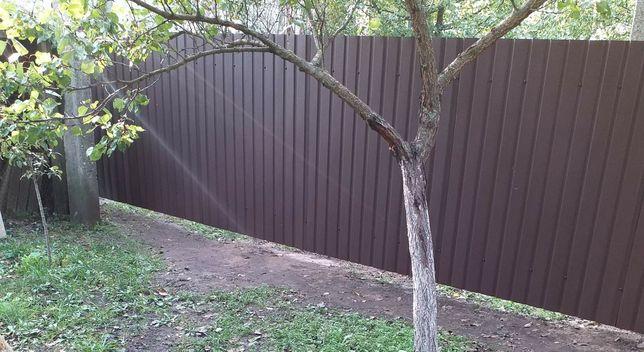 Установка заборов, ворот и калиток. Осенние скидки.