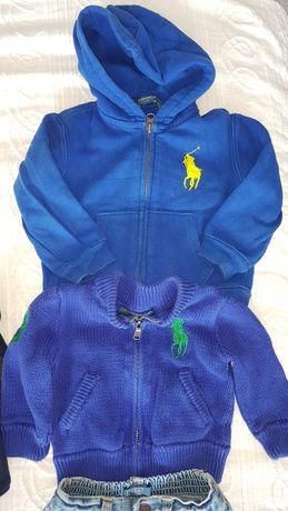 Odzież niemowlęca Ralph Lauren i Gap