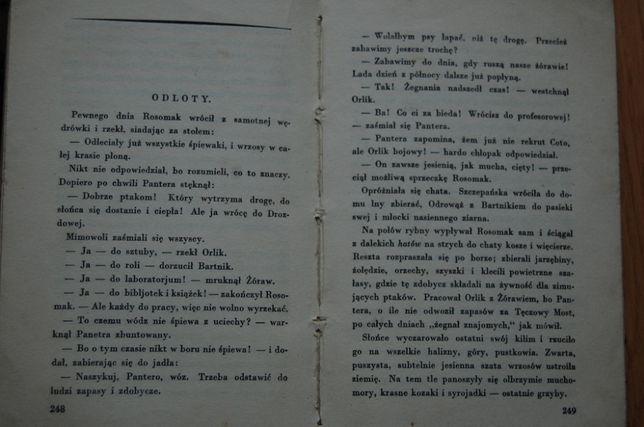 """Książka """"Lato leśnych ludzi"""" Marja Rodziewiczówna, wyd. przedwojenne."""