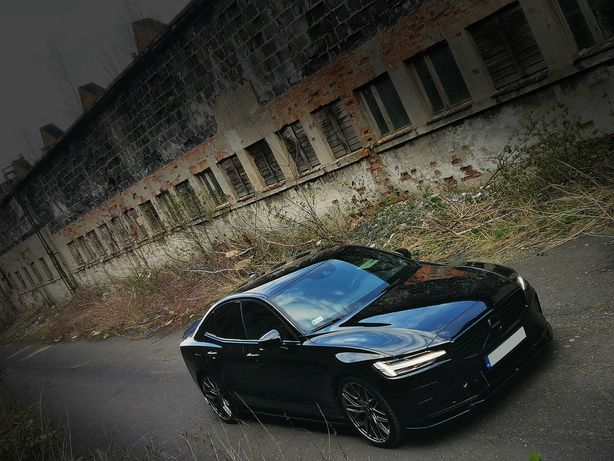 Auto do ślubu Volvo S60 R-Design Black Stone
