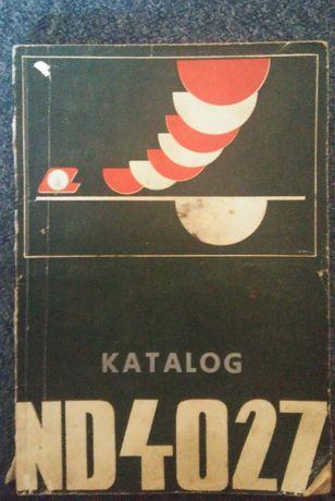 Ładowarka ładowacz ND4 - 027 katalog części cyklop