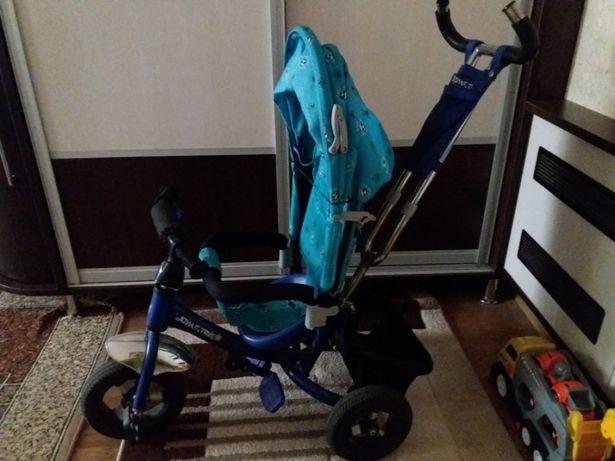 Детский велосипед Azimut trike колеса надувные на подшипниках