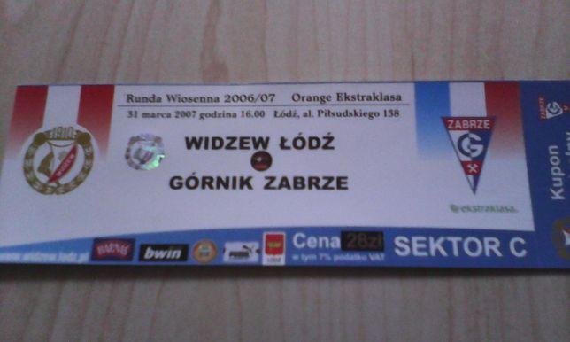 Widzew Łódź -Górnik Zabrze 31 marca 2007 r