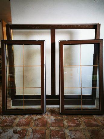Okno/Okna dąb rustikal