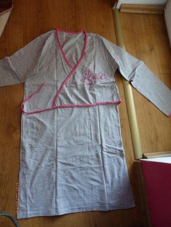 3 Koszule Nocne Ciążowe Rozmiar S! Stan Idealny! ubrane tylko raz