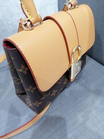 Louis Vuitton Lockme monogram canvas LV kopertówka torebka wyprzedaż n
