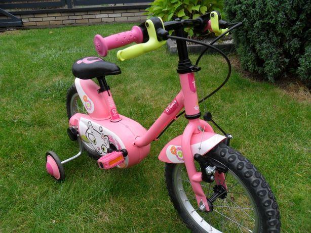 Rower rowerek dziecięcy B'twin 14 cali możliwość wysyłki!!