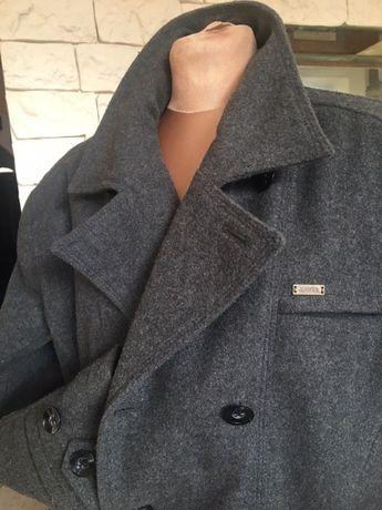 Męski piękny płaszcz Ravel szary ocieplany M