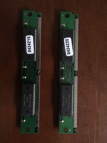 2 pentes memória DRAM 16Mb
