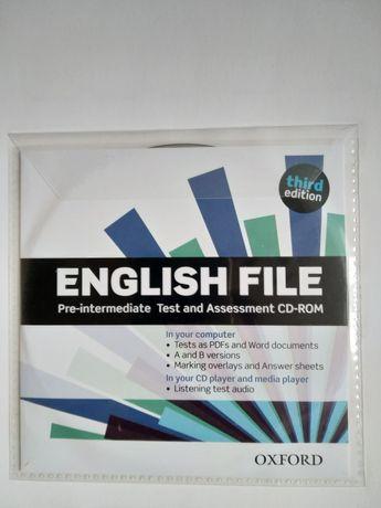 English File pre-intermediate 3rd edition third Oxford testy płyta CD