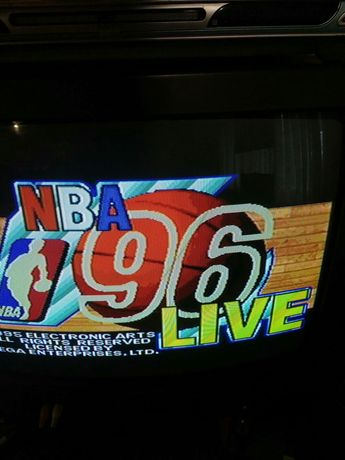 Детская игра NBA 96 Live Sega