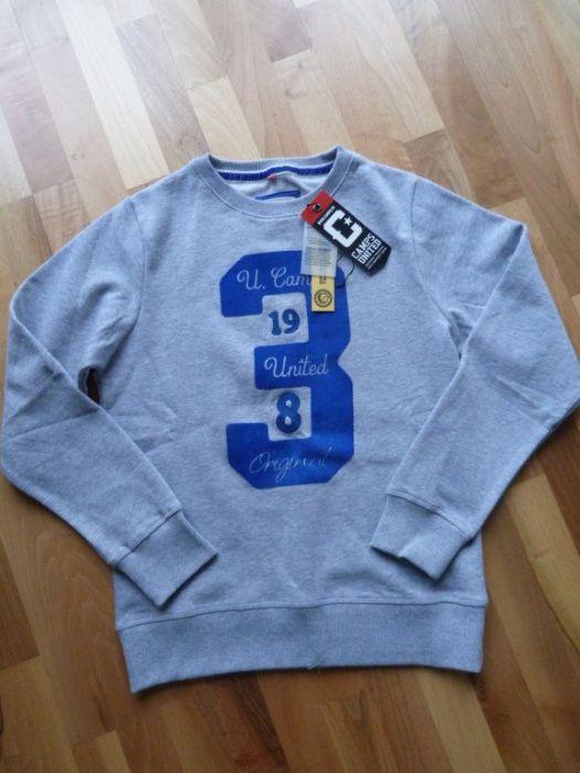 Camps United bluza szara 164 cm 16 lat NOWA Płock - image 1