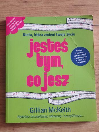 Książka jesteś tym co jesz Gillian Mckeith