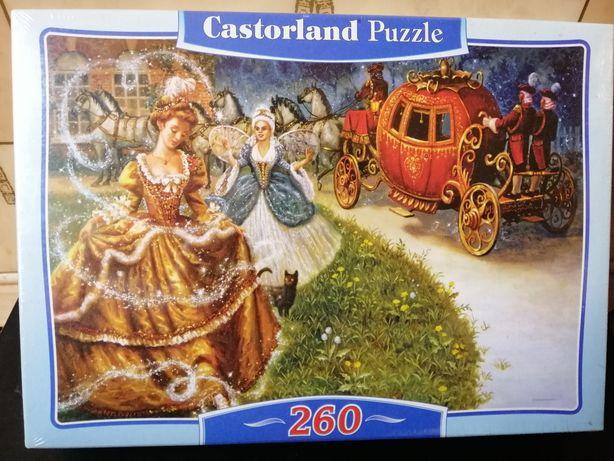 Новые пазлы Золушка Castorland 260 элементов
