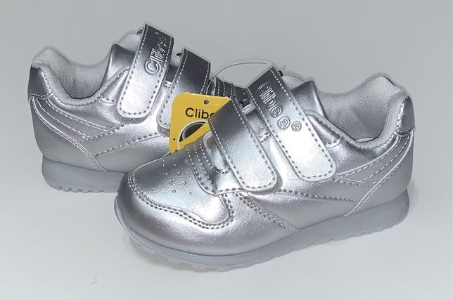 Стильные кроссовки для девочки на липучках, модель супер, фирма Clibee