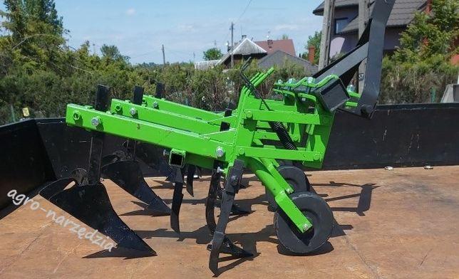 Pielniko obsypnik 3rzedowy kultywator do traktorka ogrodniczego