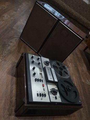 Стереофонический магнитофон Юпитер 202 1975года