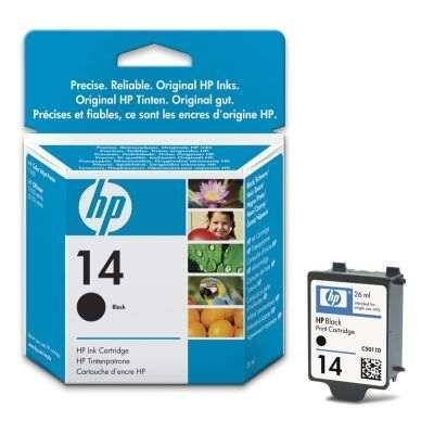 Tinteiro Preto HP 14 (C5011DE) Original