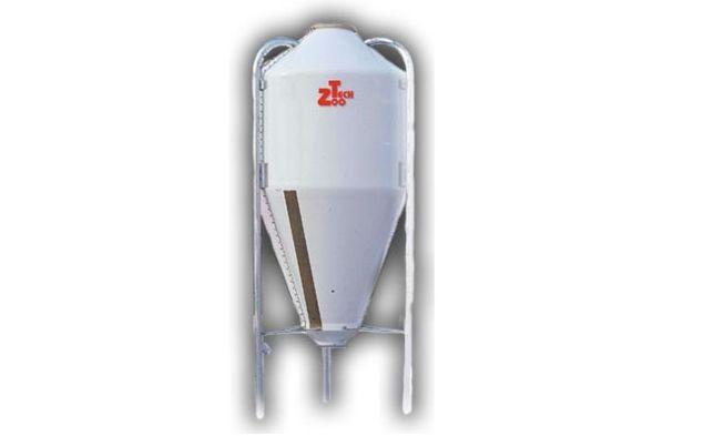 Silos paszowy poliestrowy SIV 12m3