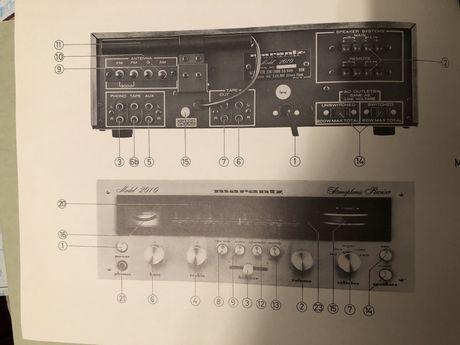 Marantz catalogo receiver alemao