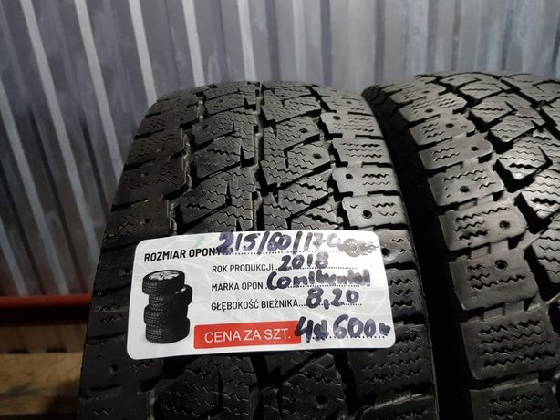 opony 215/60/17C 109/107 R Continental Vancolce Contact