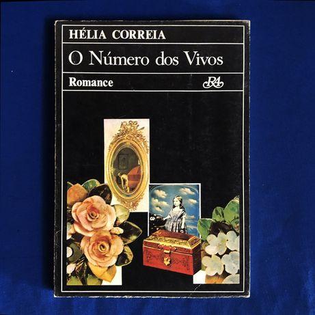 Livro O NÚMERO DOS VIVOS de Hélia Correia