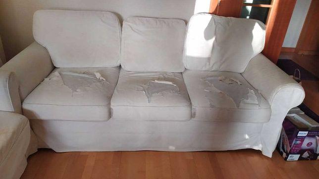 Sofá cama Ikea Ektorp 3 lugares