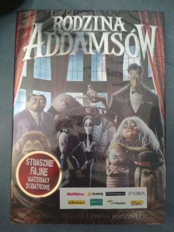 Rodzina Addamsów dvd nowe polski dubbing