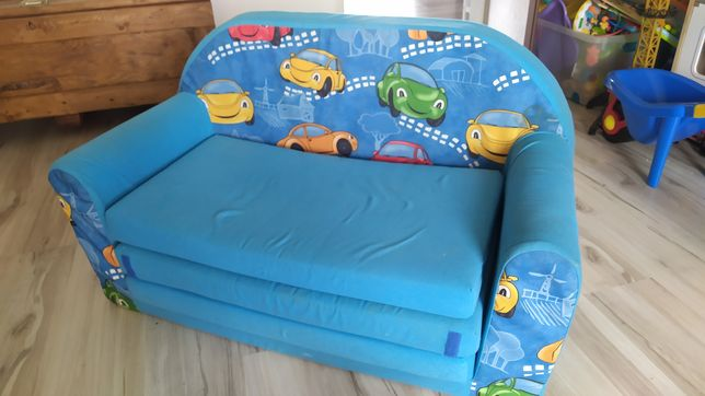 Sofka łóżko dla dzieci